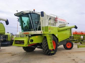 Комбайн CLAAS Mega 370 - Наличен !
